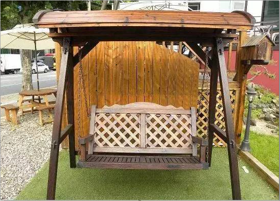防腐木家具2
